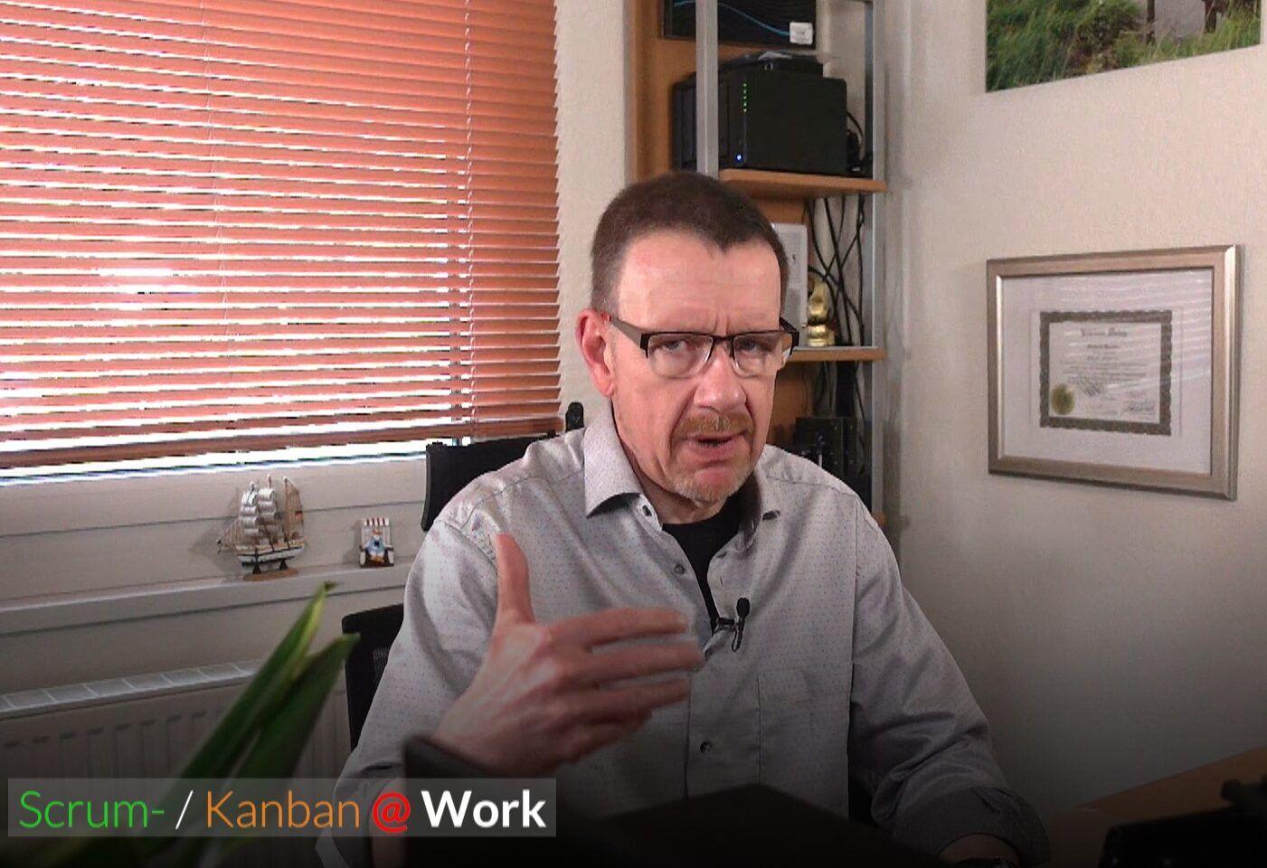 Scrum- / Kanman @ Work, Scrum, Kanban Agile agile Alternative mit eigener Methode